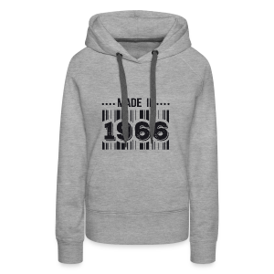 Made in 1966 - Sweat-shirt à capuche Premium pour femmes
