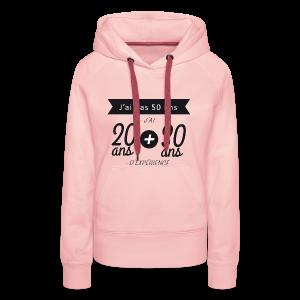 Made in 1966 - Sweat-shirt à capuche Premium pour femmes