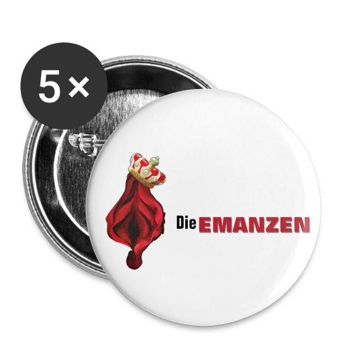 Buttons Die EMANZEN (mittelgroß) - Buttons mittel 32 mm