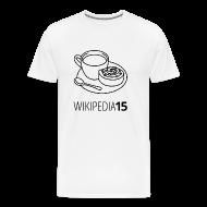 T-shirts ~ Premium-T-shirt herr ~ Fika, rak