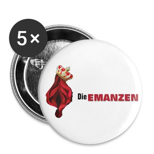 Buttons Die EMANZEN (klein) - Buttons klein 25 mm