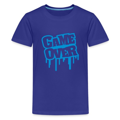 game over m8 teens - Teenage Premium T-Shirt