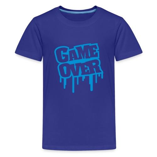 game over m8 teens - Teenage Premium T-Shirt