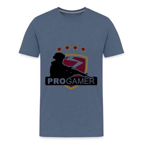 pro gamer shirt - Teenage Premium T-Shirt