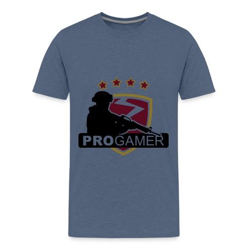 pro gamer shirt - Teenage Premium T-Shirt