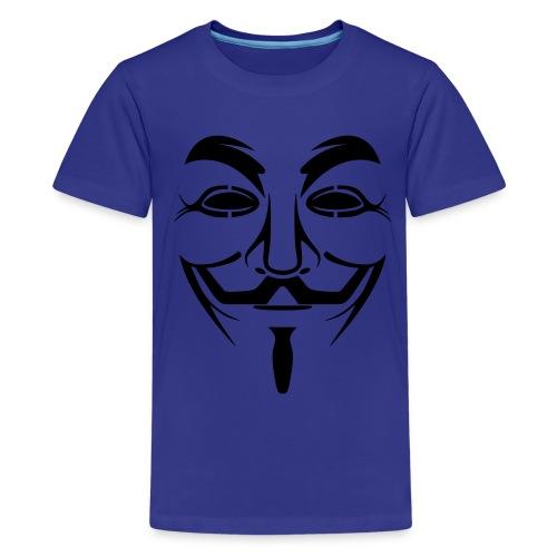 anonymous shirt. teens - Teenage Premium T-Shirt
