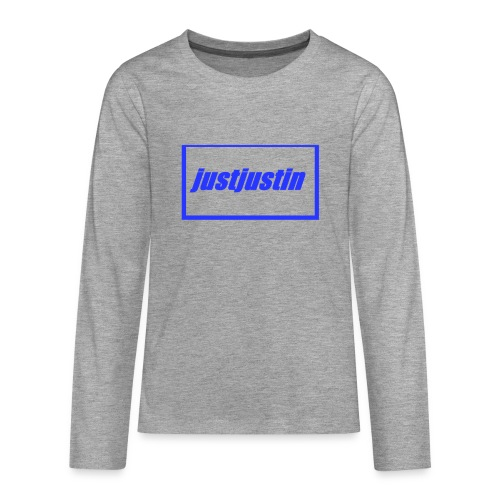 official justjustin teens - Teenagers' Premium Longsleeve Shirt