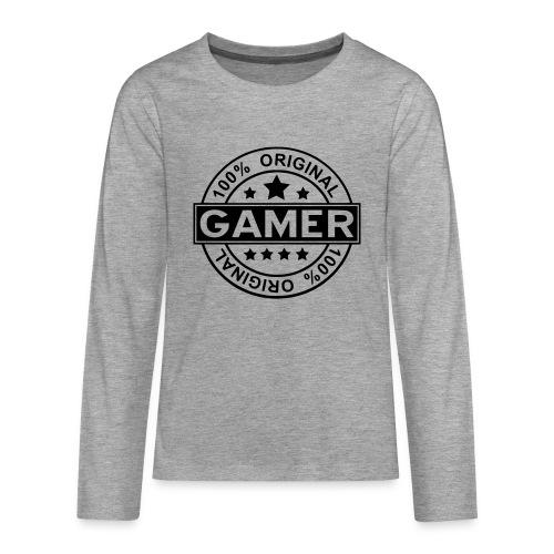 gamer shirt teens - Teenagers' Premium Longsleeve Shirt