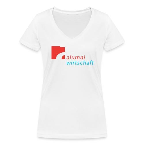V Girl (Alumni Wirtschaft Alanus) - Frauen Bio-T-Shirt mit V-Ausschnitt von Stanley & Stella
