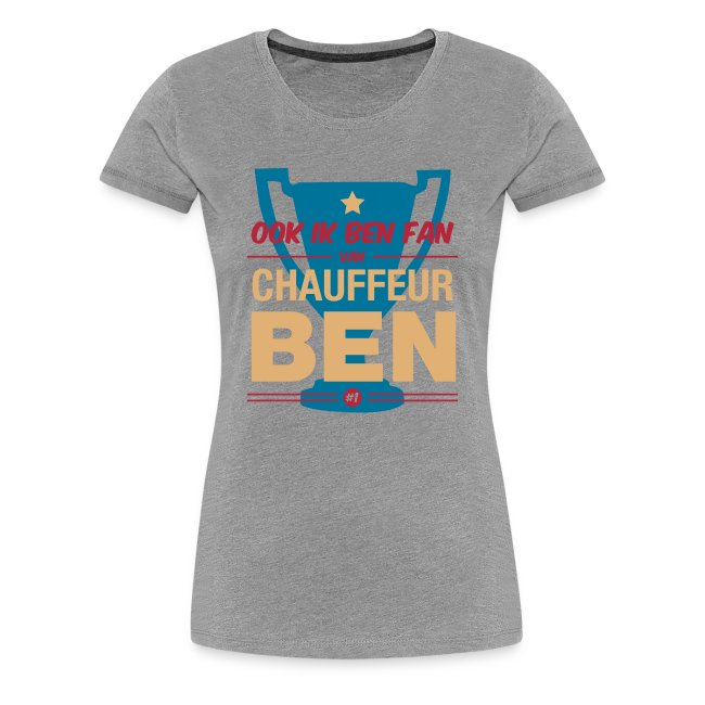 Premium T-shirt Fan van chauffeur Ben
