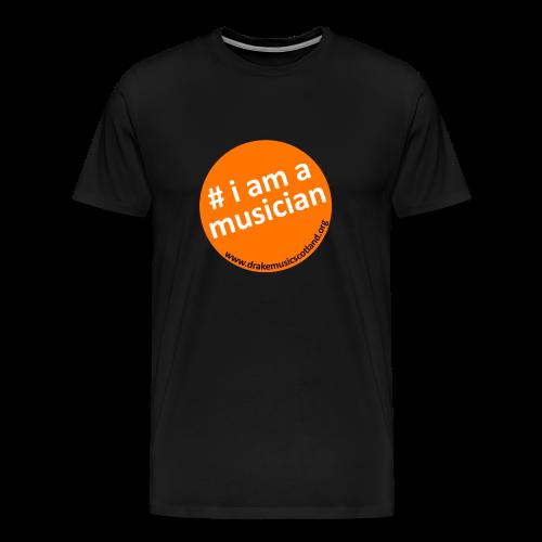 DrakeMusicScotland T-shirt - Men's Premium T-Shirt