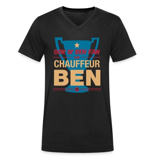 T-shirt V neck Fan van chauffeur Ben