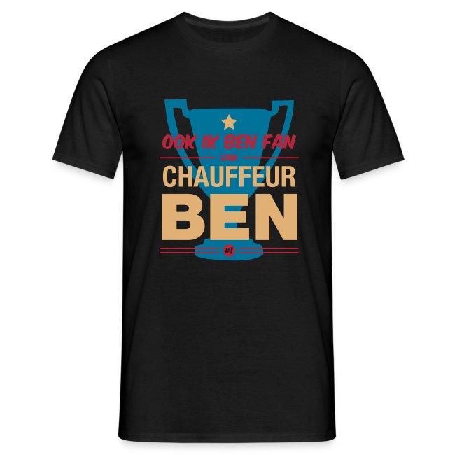 T-shirt Fan van chauffeur Ben