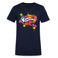T-Shirts ~ Men's V-Neck T-Shirt ~ Flotte Sprotte
