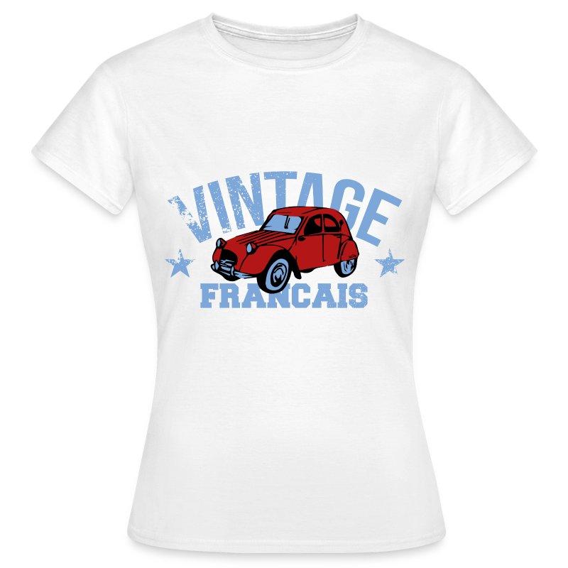 tee shirt t-shirt  vintage fran u00e7ais