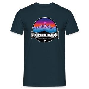 Mountain Kush / Sorte - male - Men's T-Shirt