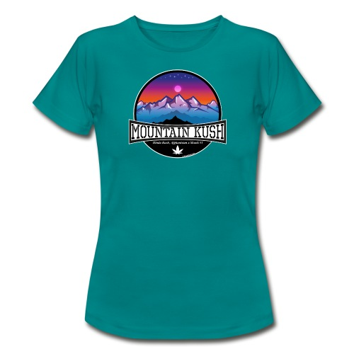 Mountain Kush / Sorte - female - Women's T-Shirt