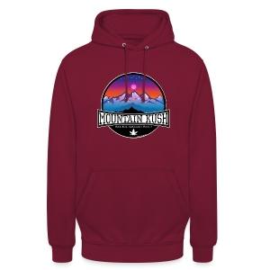 Mountain Kush / Sorte - unisex Hoodie - Unisex Hoodie