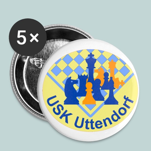 USKU-Button - Buttons mittel 32 mm (5er Pack)