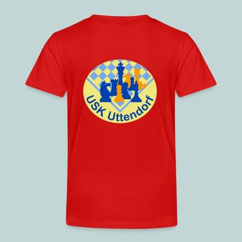 USKU-Shirt mit Rücken- und Brustlogo - Kinder Premium T-Shirt