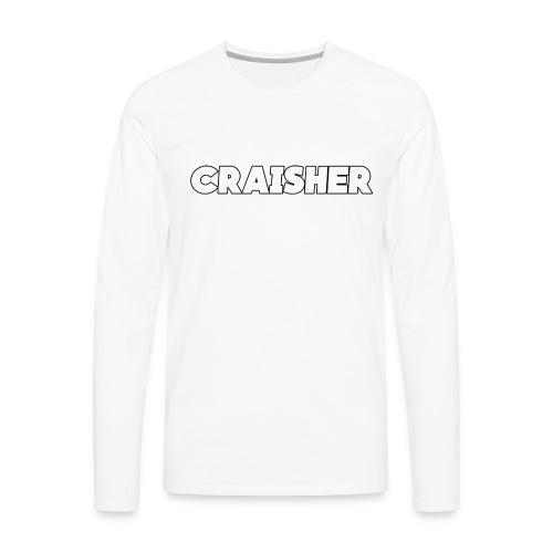 craisher official shirt - Men's Premium Longsleeve Shirt