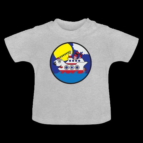 Lustiges Kreuzfahrtschiff - Baby T-Shirt
