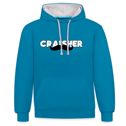 craisher official hoodie - Contrast Colour Hoodie