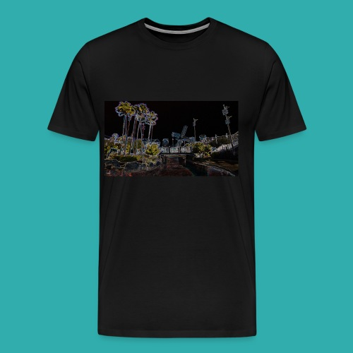 Holiday Windmill - Men's Premium T-Shirt