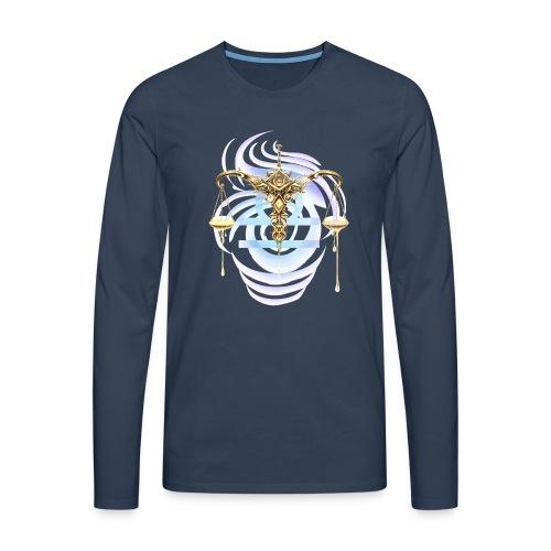 Libra Sun Men's Premium Longsleeve Shirt - Men's Premium Longsleeve Shirt