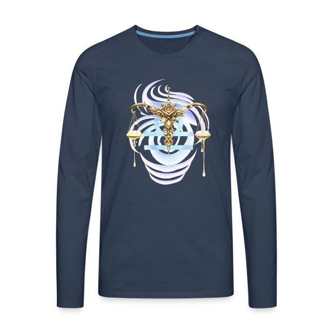 Libra Sun Men's Premium Longsleeve Shirt