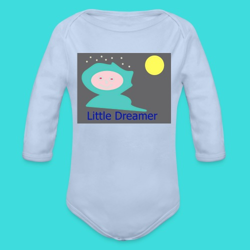 Little Dreamer  - Baby Bio-Langarm-Body