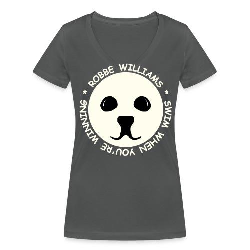 Robbe Williams Swim! T-Shirts - Frauen Bio-T-Shirt mit V-Ausschnitt von Stanley & Stella