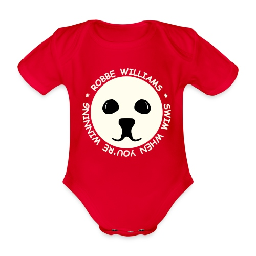 Robbe Williams Swim! Baby Bodys - Baby Bio-Kurzarm-Body