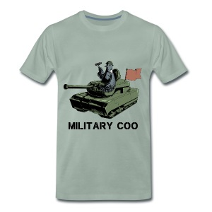 Military Coo - Men's Premium T-Shirt