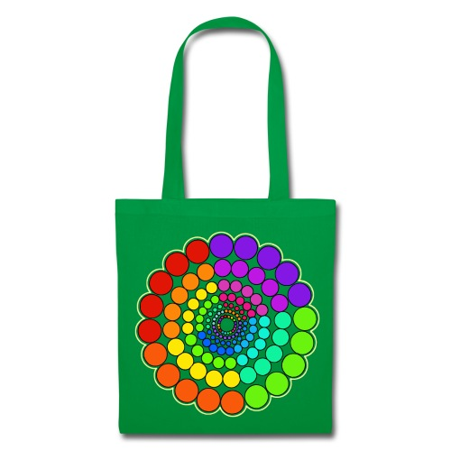 Rainbow Spectrum Mandala - Tote Bag
