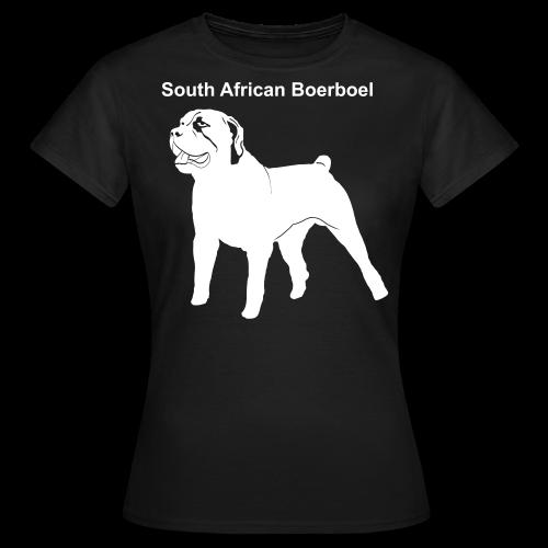 South African Boerboel Shirt - Frauen T-Shirt