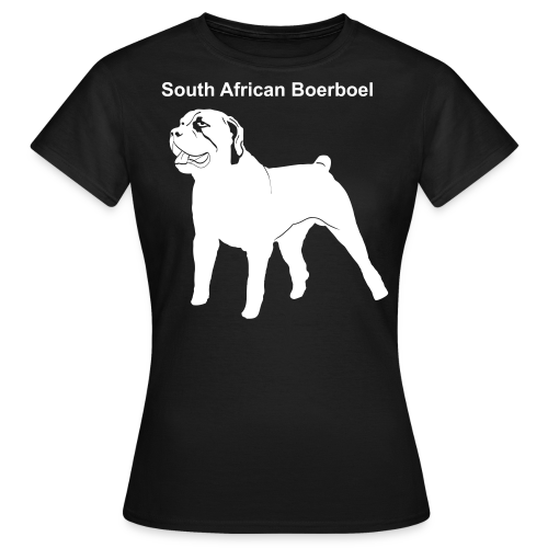 South African Boerboel Shirt - Frauen T-Shirt