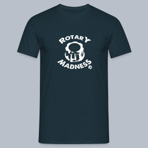 PT's Rotary Madness White - Men's T-Shirt