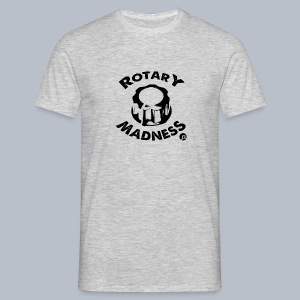 PT's Rotary Madness Black - Men's T-Shirt