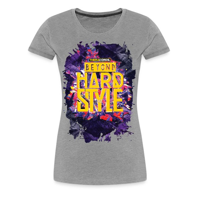 Premium T-shirt Beyond Hardstyle (purple)