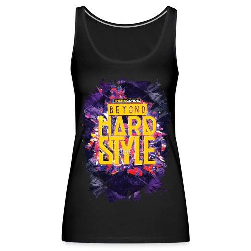 Tanktop Beyond Hardstyle (purple) - Vrouwen Premium tank top