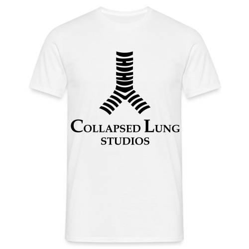 Collapsed Lung Studios Men's T-Shirt (White) - Men's T-Shirt