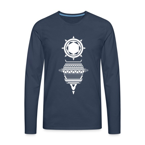 Vektor Langarmshirts - Männer Premium Langarmshirt