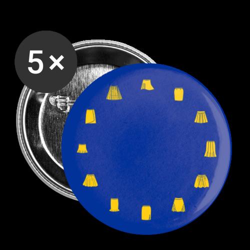 Eurocka-Buttons - Buttons klein 25 mm