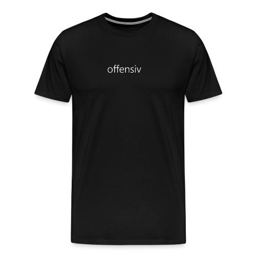 offensiv tshirt (voksen) - Herre premium T-shirt