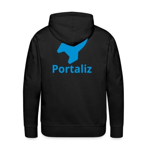 Portaliz Hoody men Rocket blue - Men's Premium Hoodie