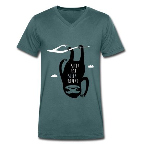 Trends der Zukunft - T-Shirt - Männer Bio-T-Shirt mit V-Ausschnitt von Stanley & Stella