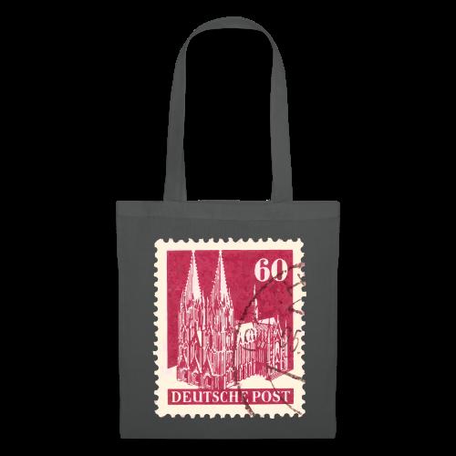 Köln Briefmarken (1948 Rot) Stofftasche - Stoffbeutel