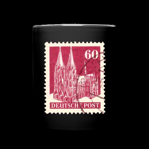 Köln Briefmarken (1948 Rot) Tasse - Tasse einfarbig