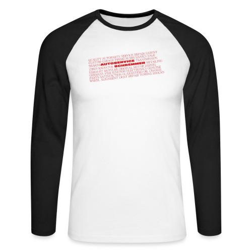 Wording - Männer Baseballshirt langarm
